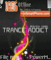 Trance Addict tema screenshot