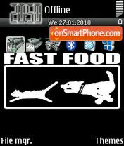 Fast Food es el tema de pantalla