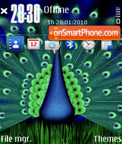 Peacock 02 theme screenshot