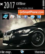 Bmw Black 01 theme screenshot