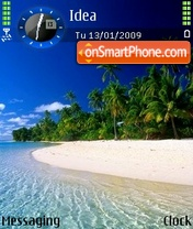Beach Beauty tema screenshot