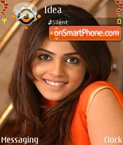 Genelia D'Souza theme screenshot