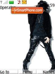 Скриншот темы Adam Lambert