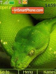 A Snake theme screenshot