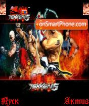 Tekken5 es el tema de pantalla