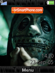 Slipknot Shake It+Mmedia theme screenshot