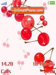 Love Cherry theme screenshot