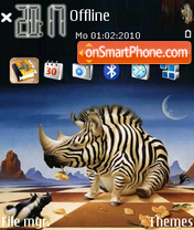 Zebra 02 theme screenshot