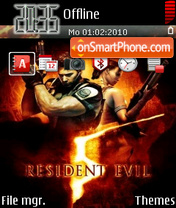 Resident Evil 07 theme screenshot