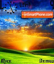 Sunrise es el tema de pantalla