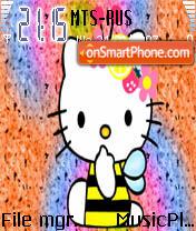 Hello Kitty 6 theme screenshot