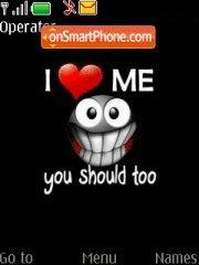 I love me es el tema de pantalla