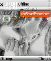 Скриншот темы First kiss 03