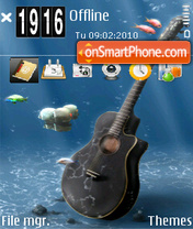 Guitar 06 tema screenshot