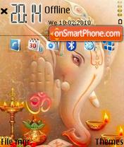 Скриншот темы Ganesh 04