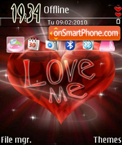 Loveme 01 theme screenshot