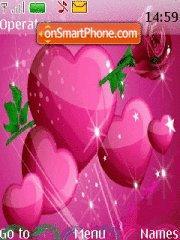 Valentine Hearts 03 tema screenshot