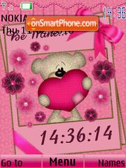 Valentine Be Mine es el tema de pantalla