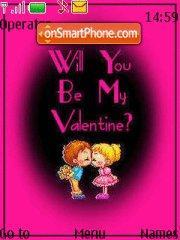 Be My Valentine 02 theme screenshot