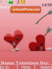 Happy Valentines Day 08 tema screenshot