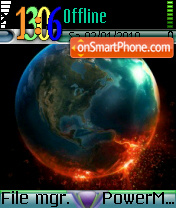 Earth 84 theme screenshot
