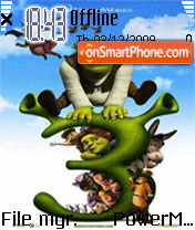 Shrek 05 theme screenshot
