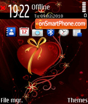 Heart for you 01 es el tema de pantalla