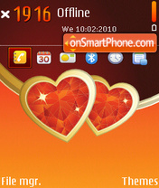My Valentine 01 theme screenshot