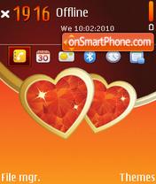 Скриншот темы My Valentine 01