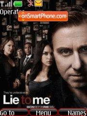 Lie to me tema screenshot