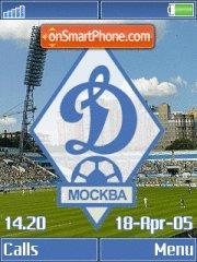 FC Dynamo Moscow K790 theme screenshot