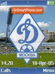 FC Dynamo Moscow+Mmedia K850 theme screenshot