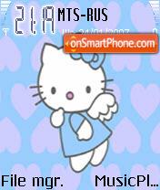 Hello Kitty 9 es el tema de pantalla