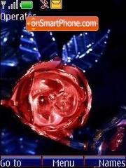 Glass rose theme screenshot