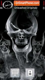 Smoke Skulls theme screenshot