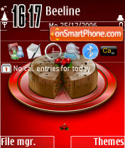 Скриншот темы DVXmas
