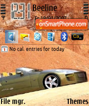 Car Sahara Theme-Screenshot
