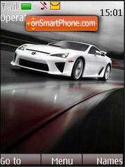 Lexus tema screenshot