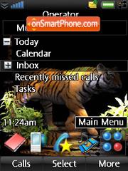 Tiger es el tema de pantalla