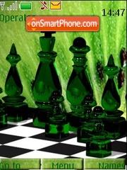 Green Chess theme screenshot