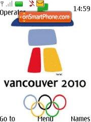 Vancouver 2010 01 theme screenshot