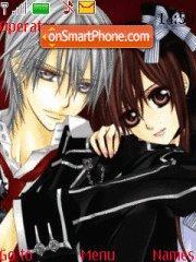 Yuki and Zero theme screenshot