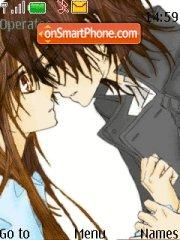 Yuki and Kaname tema screenshot