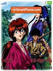 Himura Kenshin es el tema de pantalla