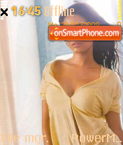 Amritha Rao theme screenshot