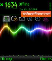 Скриншот темы Spectral