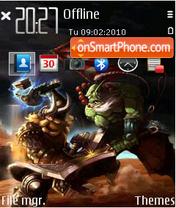 Warcraft dota fp1 es el tema de pantalla