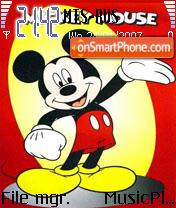 Скриншот темы Mickey Mouse 1