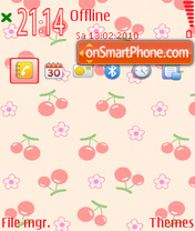 Cherry 12 tema screenshot