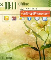 Flower of Spring es el tema de pantalla